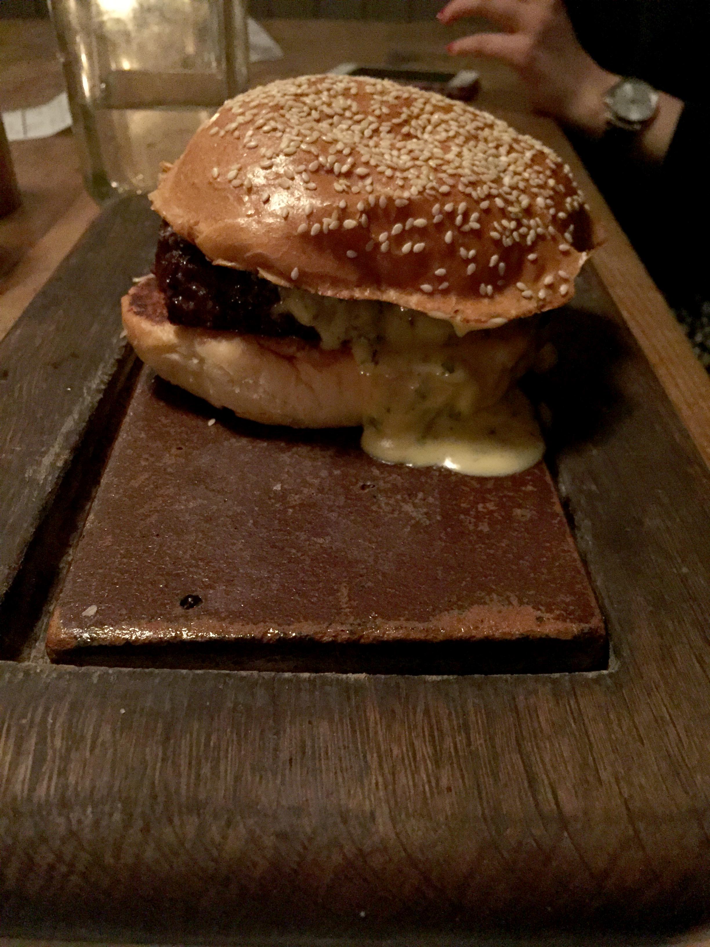 flat iron burger