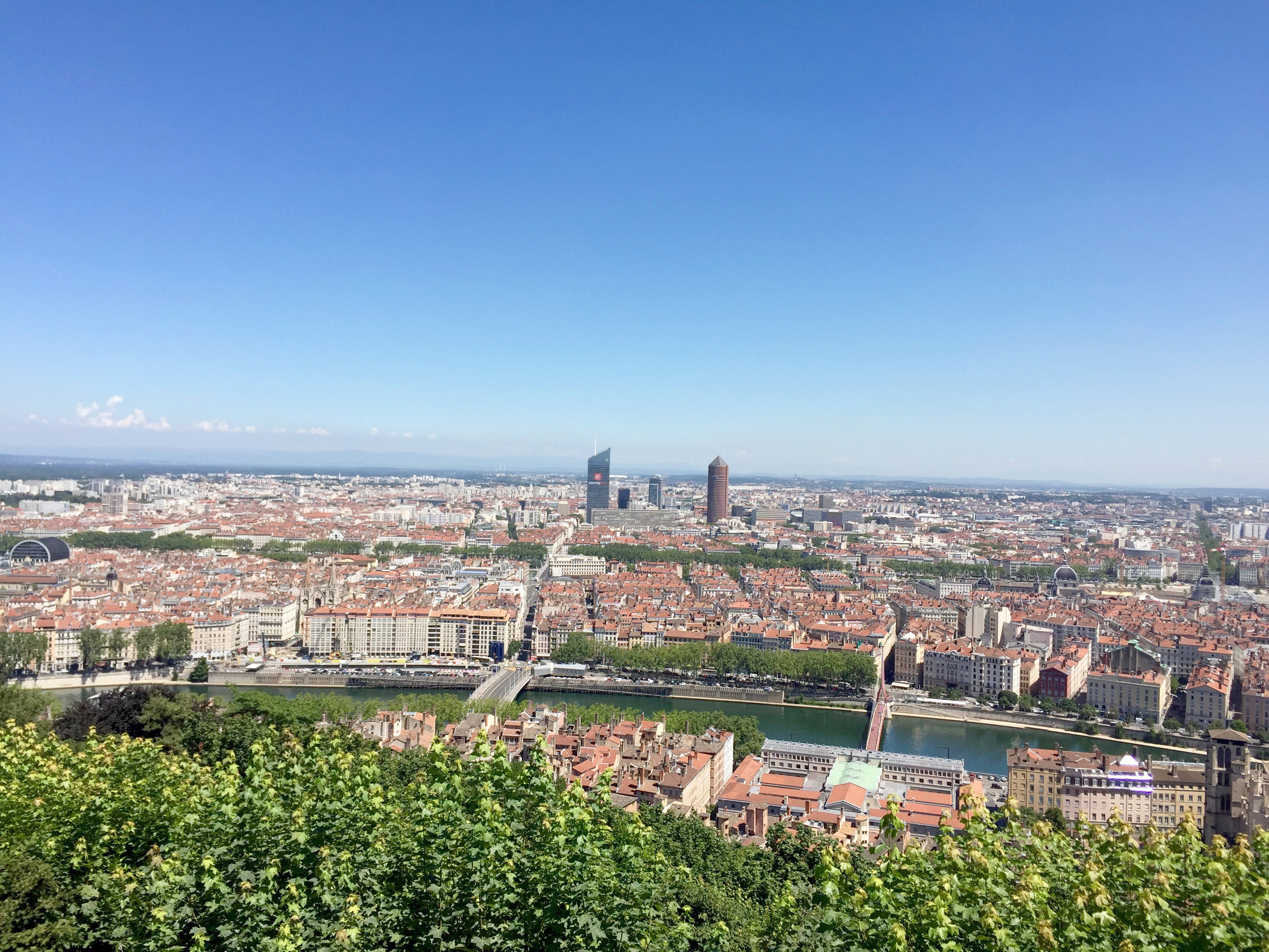 top of Lyon